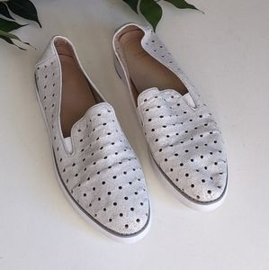 Johnston & Murphy Penelope Perforated Loafers